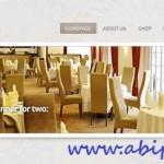 طرح لایه باز اسلادر سایت با منو PSD Web Design – Slider With Menu