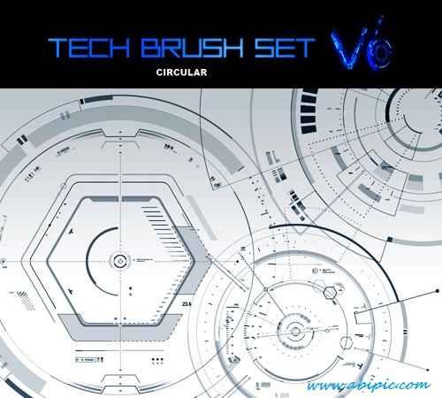 دانلود براش تکنولوژی Tech Brush