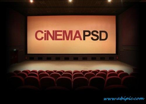 دانلود طرح لایه باز سینما Cinema