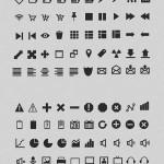 طرح لایه باز 150 آیکون ضروری برای طراحی سری 1 Essential Icons Collection