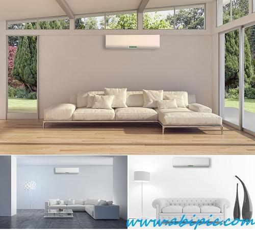 تصاویر استوک دکوراسیون داخلی با سیستم تهویه هوا Stock Photo Interior with air conditioning