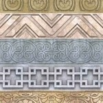 دانلود مجموعه عظیم پترن های کادر و حاشیه Collection of patterned borders