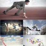 دانلود تصاویر استوک مرد در حال دویدن HQ Images Running Man