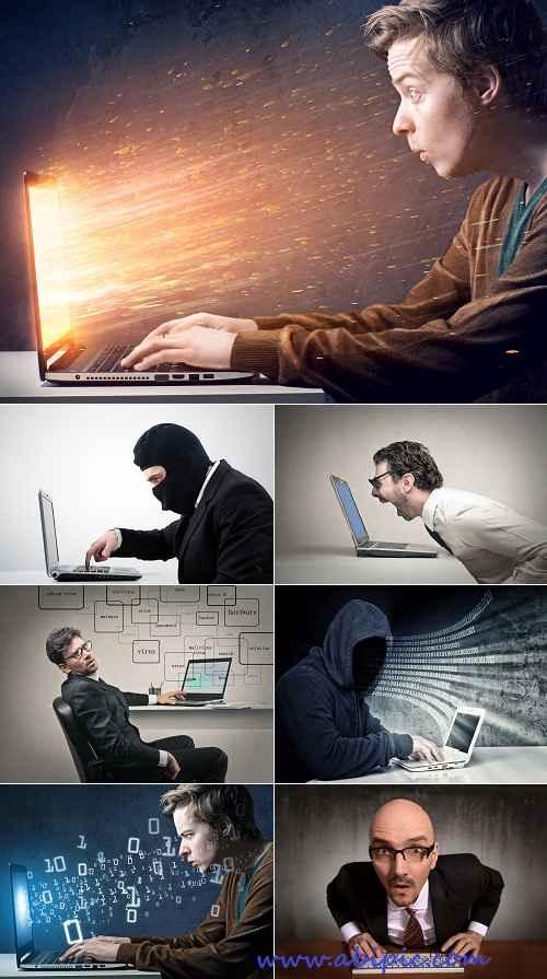 دانلود تصاویر استوک مردم و کامپیوتر سری 1 HQ Images People And Computer