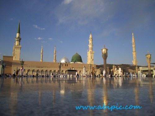 دانلود تصاویر استوک از مسجد النبی Masjid Al Nabi Stock Photo