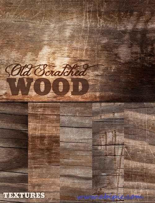 دانلود ابزارهای حرفه ای ساخت بک گراند های با طرح چوب خراشیده