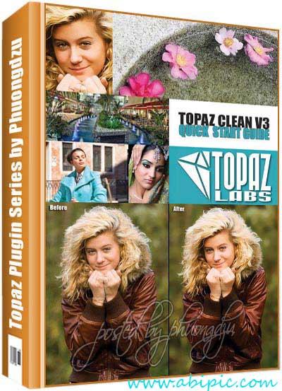 دانلود پلاگین پاک سازی تصاویر Topaz Clean 3