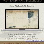ابزار ساخت بکگراند نقاشی شده Create a Modern Abstract Painting Background