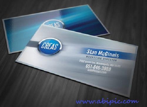 دانلودکارت ویزیت انتزائی Abstract Effects Business Card