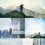 دانلود عکس استوک با موضوع ایستادن بر روی بلندی HQ Images On High