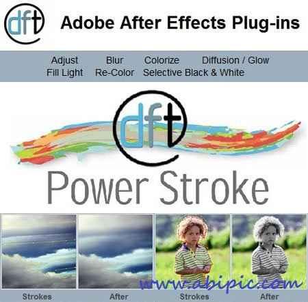 دانلود پلاگین افترافکت Digital Film Tools - Power Stroke 1.0.7.2