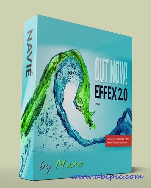 دانلود نرم افزار شبیه ساز سینما 4 بعدی Navié Plants & Effex 2.0 For Cinema4D