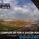 افترافکت مخصوص پخش زنده مسابقات فوتبال Live Soccer Broadcast After Effects