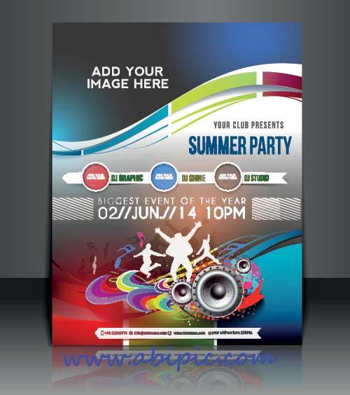 دانلود وکتور پوستر و جلد مجله Business flyer brochure and magazine cover