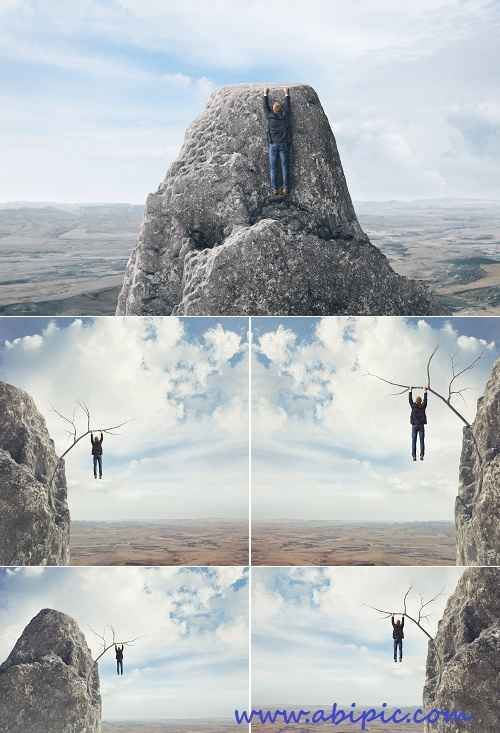 دانلود عکس استوک بر بالای پرتگاه HQ Images Over The Precipice