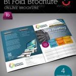 دانلود بروشور 2 لت ایندیزاین GraphicRiver A4 Bi fold Internet Brochure