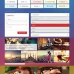 دانلود المان های طراحی سایت Metro UI Kit PSD Template