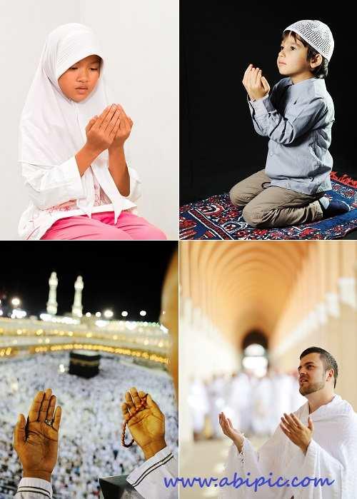 دانلود عکس استوک مسلمان در حال دعا Stock Photos Muslim Prayers