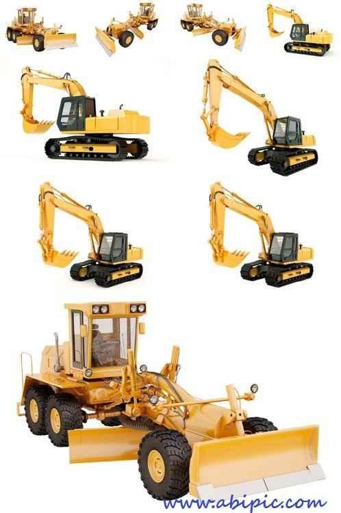دانلود تصاویر استوک ماشین های حفاری و مهندسی HQ Images Excavator