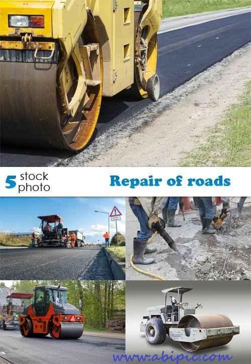 دانلود تصاویر استوک راه سازی Photos - Repair of roads