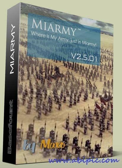 دانلود پلاگین Basefount Miarmy v2.5.01 برای مایا