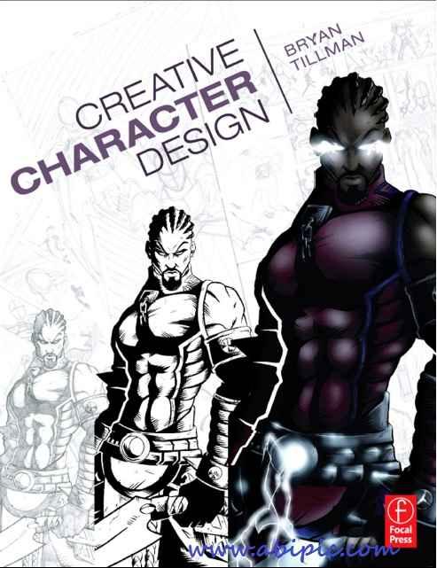 دانلود کتاب آموزش طراحی کارکتر Creative Character Design
