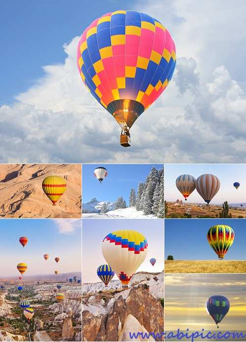 دانلود تصاویر استوک بالون Stock Photos Aeronautical Balls