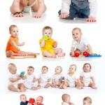دانلود تصاویر استوک کودکان در حال بازی شماره 4 Stock Photos Funny Babies