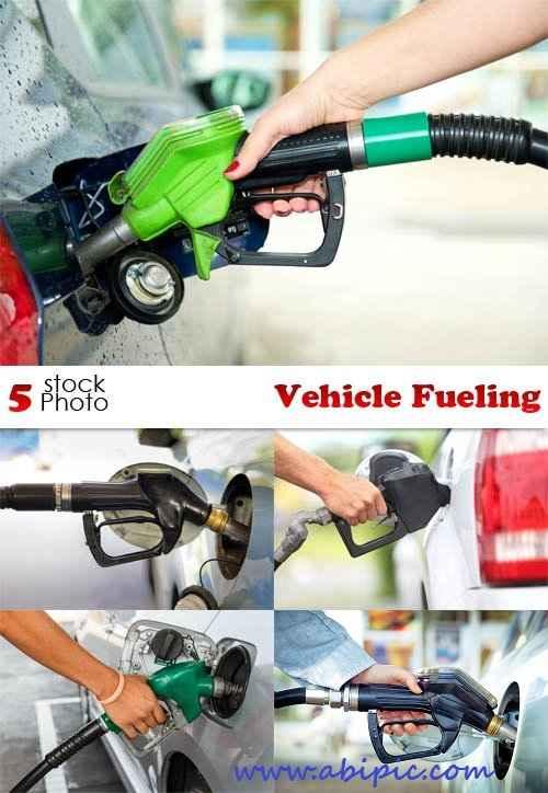 دانلود تصاویر استوک ماشین در حال سوخت گیری Photos Vehicle Fueling