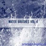 دانلود براش آب برای فتوشاپ Water Brushes