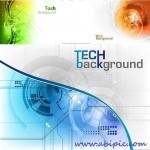 دانلود وکتور بک گراند تکنولوژی و دیجیتال 3 Stock Vector Tech background