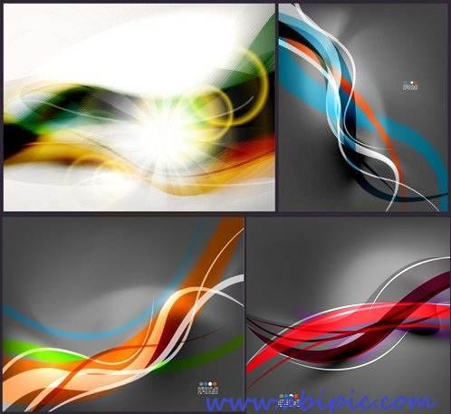 دانلود وکتور بک گراند آبسترکت شماره 7 Abstract Backgrounds