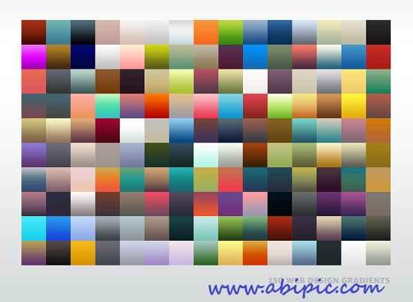 دانلود 150 گرادینت زیبا برای طراحی سایت Web Design Gradients