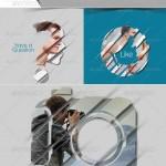 دانلود افکت و فریم لایه باز عکس خلاقانه Photo Frame Templates
