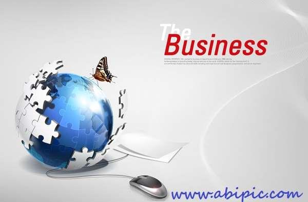 دانلود سورس لایه باز اینترنت و تکنولوژی Internet Technology PSD Template
