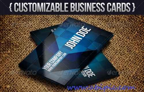 دانلود کارت ویزیت با طرح پیکان و فلش Modern Arrow Business Card