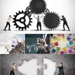 دانلود تصاویر استوک با مفهوم کار تیمی شماره 2 Stock Photos Concept of Teamwork