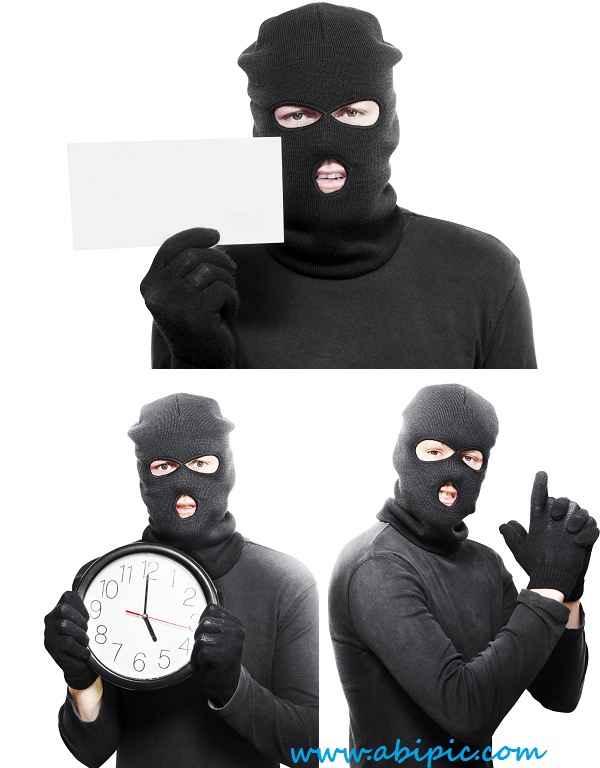 دانلود تصاویر استوک خلافکار و دزد Criminal people - stock photo
