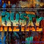 دانلود براش و استایل فتوشاپ فلز زنگ زده Brushes for Photoshop Rusty Metal