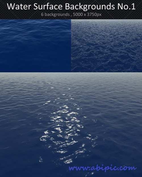 دانلود بکگراند و تکسچر سطح آب Water Surface Backgrounds