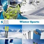 دانلود تصاویر استوک ورزش های زمستانی Photos – Winter Sports