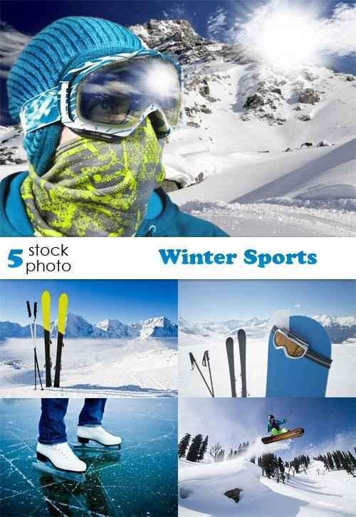 دانلود تصاویر استوک ورزش های زمستانی Photos - Winter Sports