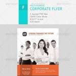 دانلود طرح پوستر و تراکت شرکتی شماره 4 Corporate Flyer