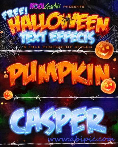 دانلود استایل های ترسناک هالووین شماره 2 Halloween PS Styles