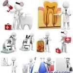 دانلود آدمک های سه بعدی با طرح پزشکی و بهداشتی 3D Characters Medicine