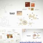 دانلود تصاویر وکتور مربوط به نوآوری و کسب و کار Business innovation graphics