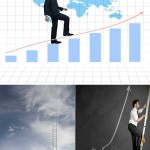 دانلود تصاویر استوک پله و نردبان ترقی و پیشرفت سری 2 Stock Photos – Businessman Stepping Up