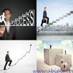 دانلود تصاویر استوک پله و نردبان ترقی و پیشرفت سری 1 Stock Photos – Businessman Stepping Up