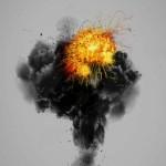 دانلود طرح لایه باز انفجار Explosion PSD