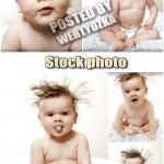 دانلود تصاویر استوک کودک شماره 5 Funny little baby stock photos